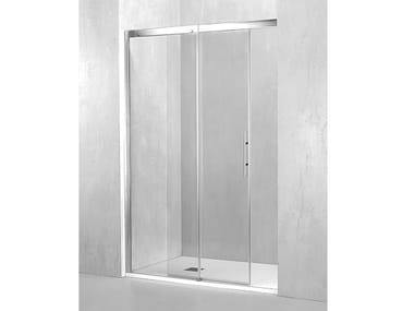 Box doccia a nicchia con porta scorrevole PL-PSC