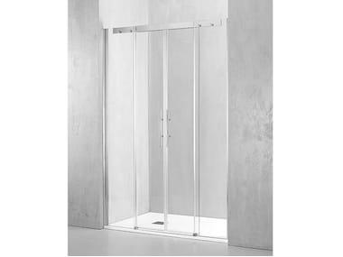 Box doccia a nicchia con porta scorrevole PL-PSC2