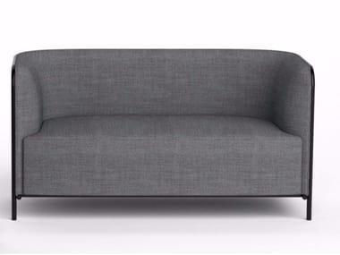3 seater fabric sofa PLACE | Fabric sofa
