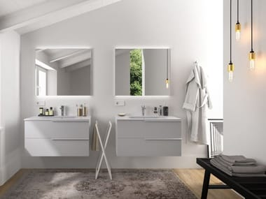 Mobili bagno con specchiere PLANA 23