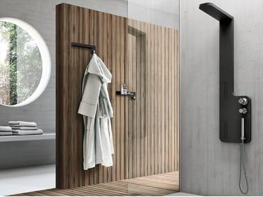 Duschsäule mit Brausekopf zur Wandmontage PLANE