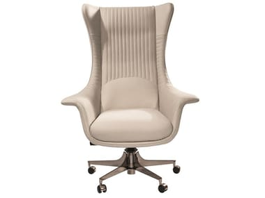 Executive chair with 5-spoke base with castors PLANET