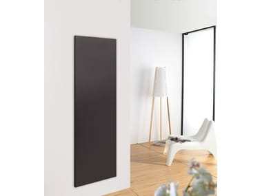 Wall-mounted stainless steel panel radiator PLANO MOVE