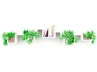 Modular MDF shelf PLANTASHELF