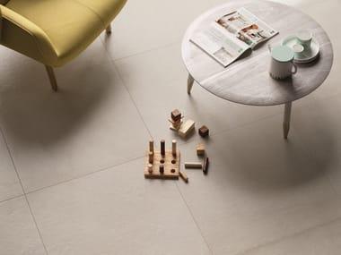 Pavimento/rivestimento in gres porcellanato a tutta massa per interni ed esterni PLASTER