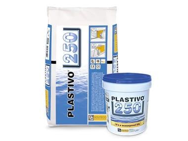 Impermeabilizzante in spinta idrostatica positiva e negativa PLASTIVO® 250