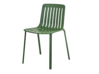 Sedia da giardino in alluminio pressofuso PLATO | Sedia