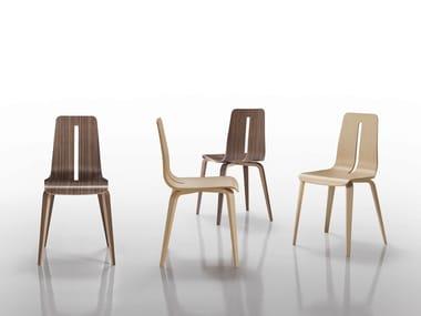 Wooden chair PLATONE   Chair