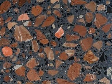 Indoor/outdoor terrazzo wall/floor tiles PLATTEN