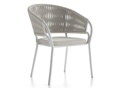 Garden chair with armrests PLEASURE | Garden chair