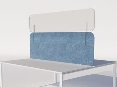 Protective plexiglass extension for acoustic panels PLEXIJAZZ EXTENSION