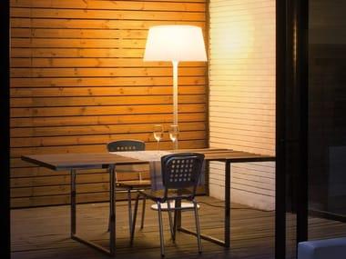 Lampada da terra per esterno fluorescente PLIS OUTDOOR | Lampada da terra per esterno