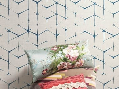 Geometric wallpaper PLISSE' SHIBORI