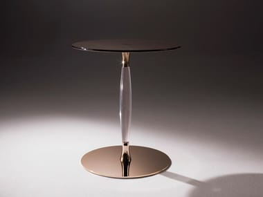 Round crystal coffee table PLOMB