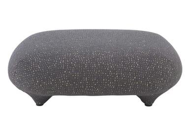 Fabric footstool PLOUM   Footstool