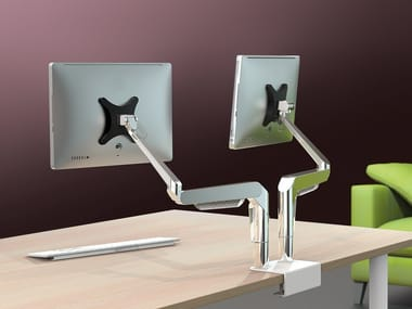 Steel stand for desk PLUG & PLAY