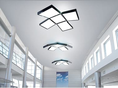 LED direct light PVC ceiling lamp BARRISOL® PLUS