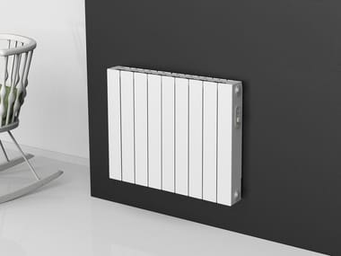 Electric wall-mounted decorative radiator PLUS E