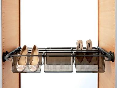 Accessori per cabine armadio in alluminio PLUS + VASCHETTA
