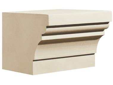 Cornice per facciata in pietra leccese PMF21 | Cornice per facciata