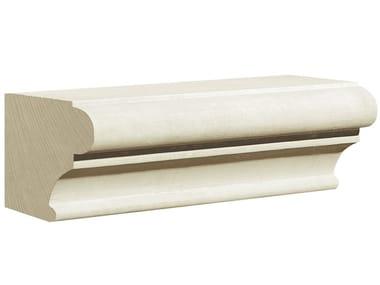 Cornice per facciata in pietra leccese PMF54 | Cornice per facciata