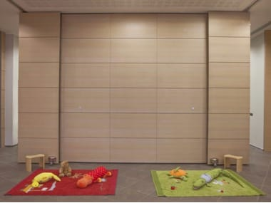 Movable push partition walls PMS - PUSH