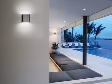 LED direct-indirect light Outdoor wall Lamp POCKET