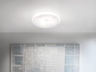 Glass ceiling light POD PL