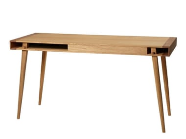 Solid wood secretary desk POET | Secretary desk