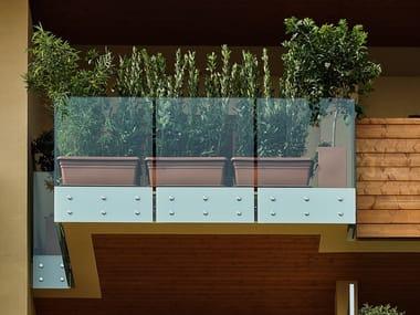 Glass balustrade POINT