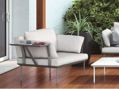 Fabric garden armchair POISSY FOR OUT   Garden armchair