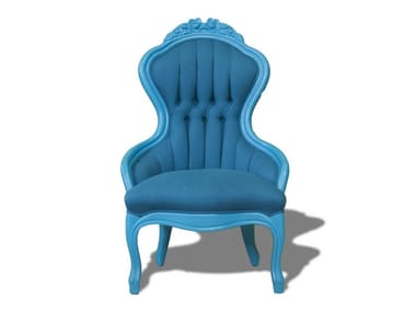 Classic style fabric Kids armchair POLART   Kids armchair