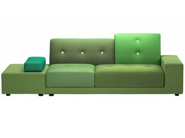 Fabric sofa POLDER SOFA