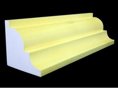 Polystyrene matrix for decorative element POLIARMO