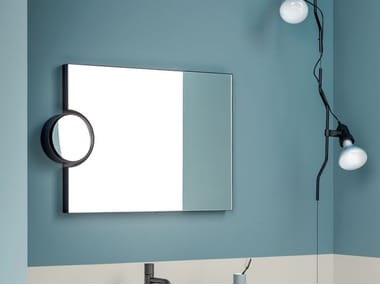 Wall-mounted bathroom mirror POLIFEMO