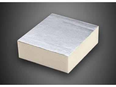 Polyiso foam thermal insulation panel POLIISO EXTRA