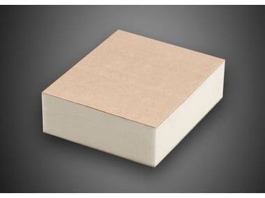 Polyiso foam thermal insulation panel POLIISO® PLUS