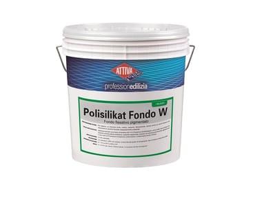 Fondo pigmentato all'acqua a base di polisilicati di potassio POLISILIKAT FONDO W