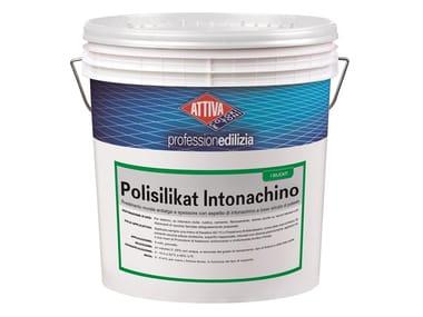 Rivestimento murale a spessore a base di polisilicati di potassio POLISILIKAT INTONACHINO 1.2
