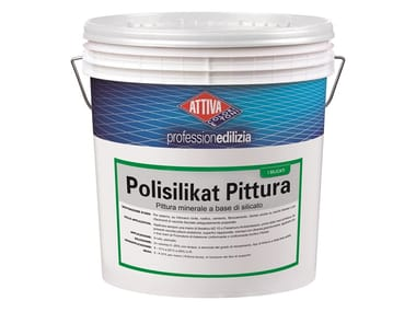 Pittura minerale a base di polisilicati di potassio POLISILIKAT PITTURA