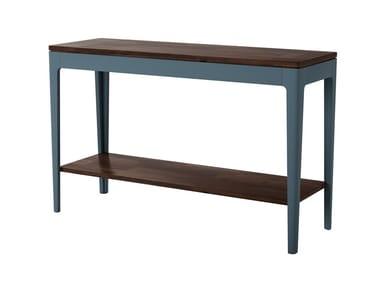 Rectangular acacia console table POLLO | Console table