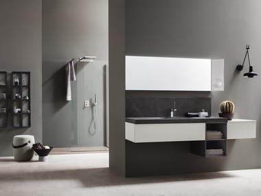 Modular bathroom system POLLOCK - COMPOSIZIONE 67