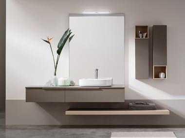 Sistema bagno componibile in legno POLLOCK - COMPOSIZIONE 69