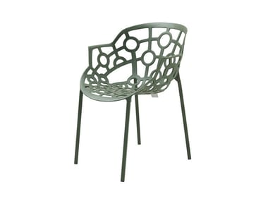 Stackable aluminium chair POLO | Stackable chair