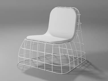 Eco-leather armchair POLTRONCINA | Eco-leather armchair