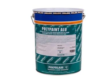 Pittura all'acqua per la protezione dai raggi U.V. POLYPAINT ALU