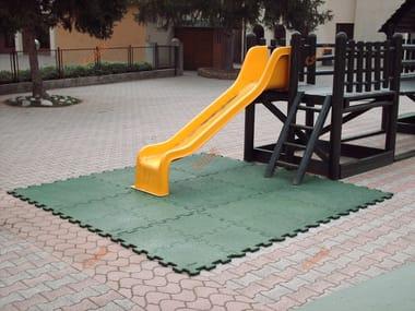 Pavimentazione antitrauma POLYSHOCK