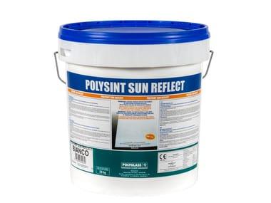 Membrana liquida fibrata impermeabilizzante POLYSINT SUN REFLECT