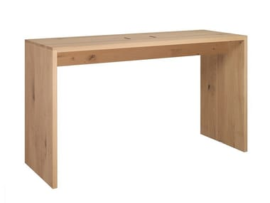Rectangular wooden high table PONTE | High table