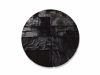 Round Leather Rugs Archiproducts